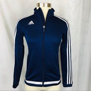Adidas Tiro 15 Climacool Full Zip Training…